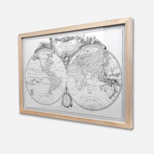 Mappe Monde 40×60 cm