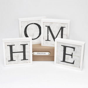 letras home blanco