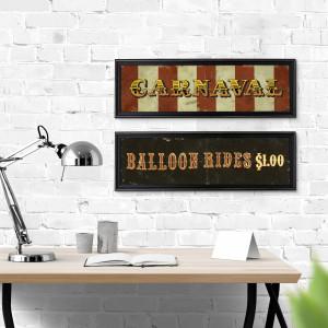 Cartel Balloon Rides 70×20