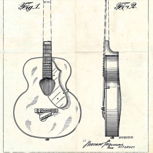 Blueprint Guitarra