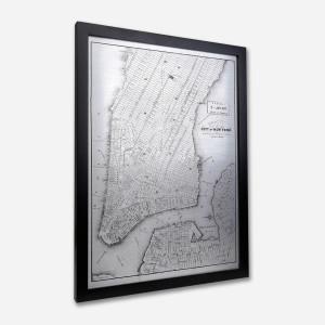 Mapa de New York Metal