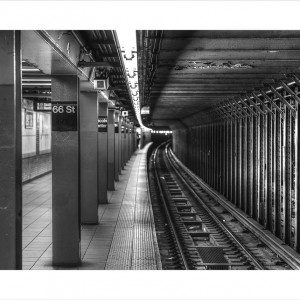 CUADRO NY Subway B&N