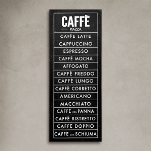 Set Lienzos Caffé Gelati