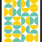 limon 40x50 Marco negro