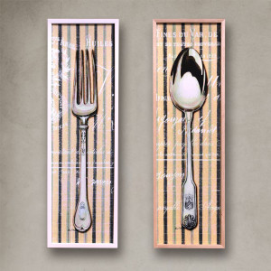 Set Comedor Cuchara tenedor 30×100 cm