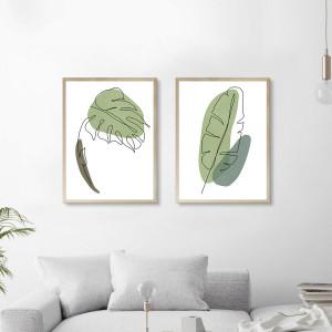 Cuadros Botánico Lineal