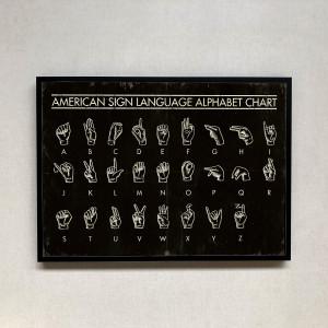 Alfabeto americano de signos