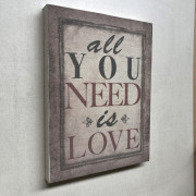 Bastidor tela All you need 2